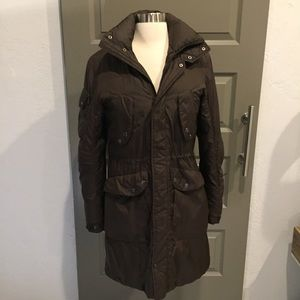 Tommy Hilfiger Full Brown Down Coat Size S